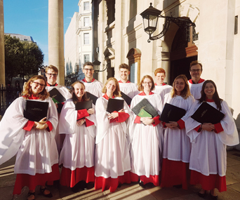 Choral Scholars from St Martin in the Fields