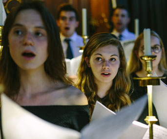 University College Oxford choral scholars